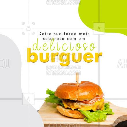 Temos várias opções de lanches para te deixar mais feliz hoje, faça seu pedido! 🤗🍔 #ahazoutaste #hamburgueriaartesanal  #hamburgueria  #burgerlovers  #artesanal  #burger