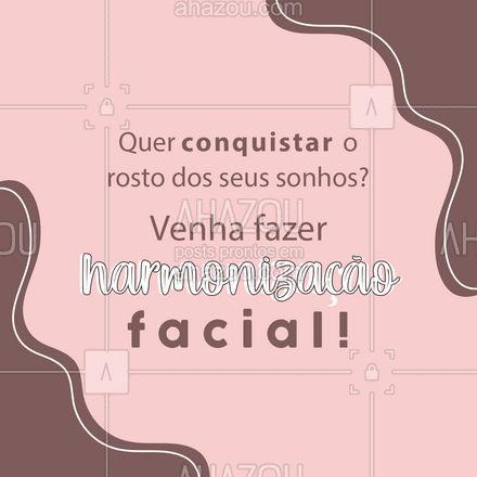 O rosto que você sempre quis está a uma avaliação de você! Agende já a sua! ? #HarmonizaçãoFacial #Estetica #AhazouBeauty #esteticafacial  #beleza #ahzreview