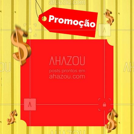 Não fique de fora dessa promoção! Aproveite e adquira seus produtos de qualidade e com preço baixo!  #ahazou #promoção #desconto #ofertas  #precobaixo  #vendas