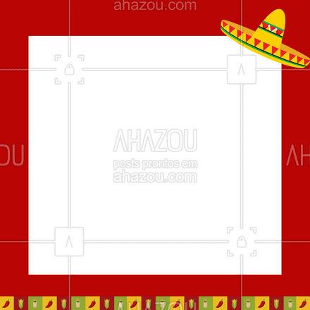 Toda hora é hora, desde que seja dentro do nosso horário de atendimento! ? #comidamexicana #texmex #ahazoutaste #cozinhamexicana #vivamexico #ahazoutaste