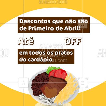 Peça seu prato favorito com um preço super especial só hoje!  #ahazoutaste  #restaurante #alacarte #foodlovers #selfservice