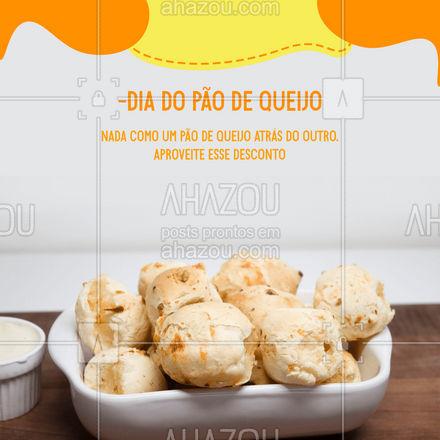 Quanto eu coloco no seu pedido? ??  #ahazoutaste  #padaria #bakery #diadopaodequeijo #paodequeijo #promocao #desconto