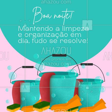 Vamos cuidar daquilo que podemos manter limpo para que nossas vidam sejam mais leves ? #AhazouServiços #organizaçao #limpeza #boanoite  #residencia  #servicosparacasa  #casa