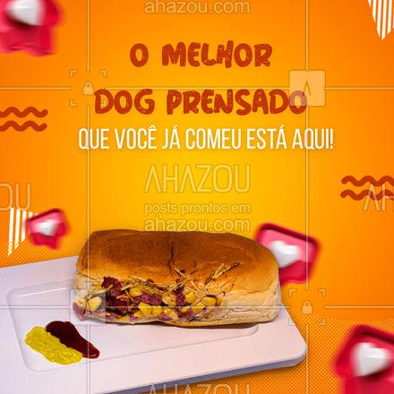 Esqueça tudo o que você já comeu. Experimente o nosso dog prensado e se surpreenda. Entre em contato e peça já o seu! #hotdog #hotdoglovers #hotdoggourmet #cachorroquente #ahazoutaste #food #hotdogprensado