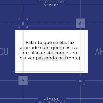 E aí geminiana, você se identificou com esse post sim, claro ou com certeza? 🤣🤣🤣 #gemeos #signos #geminiano #AhazouBeauty  #estetica #beauty #beleza