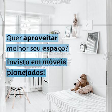 Além de dar um toque especial na sua casa, ainda aproveita e valoriza todo o espaço! ? #moveis #moveisplanejados #AhazouPlanejados #moveissobmedida #casaplanejada #AhazouPlanejados