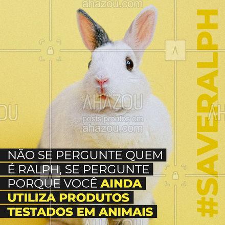 Você pode consumir com facilidade marcas que não testam em animais.  Seja a favor do amor e a vida dos animais. ??? #AhazouPet  #petlovers #dogs #cats #coelhos #ratos #ameosanimais #produtossemcrueldade #camundongos #crueltyfree #ralph #saveralph
