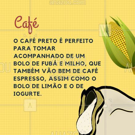 Tem combinação para todos os gostos! ?? #Bolos #Chá #Café #ChocolateQuente #ahazoutaste #Carroselahz  #coffeelife #barista