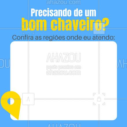 Conte com um bom profissional para cuidar das suas chaves e fechaduras! ?️?? #chave #chaveiro #AhazouServiços #serviços #serviçospracasa