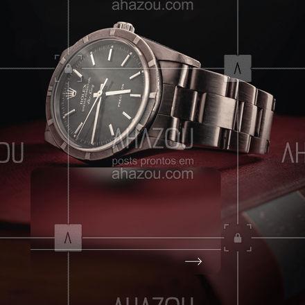 Aqui você encontra estilo e qualidade! Confira nossos relógios! #AhazouÓticas #opções #relógio #compra #estilo #qualidade #relógios #confira #cliente