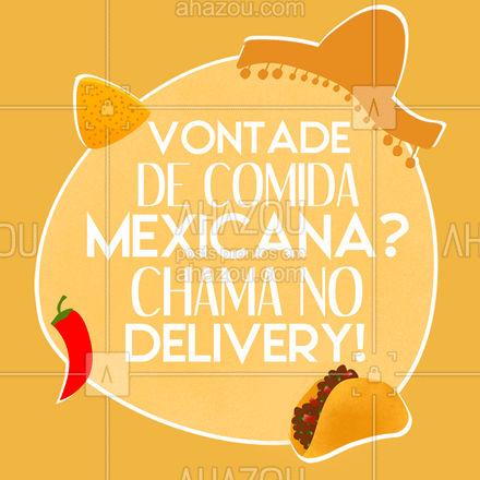 Bateu a fome? Peça pelo delivery e receba seu pedido onde estiver! #ahazoutaste #comidamexicana  #cozinhamexicana  #vivamexico  #texmex  #nachos #convite #cliente #pedido #entrega