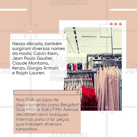 E ai, você usa alguma tendência da época ?? Compartilha aqui nos comentários com a gente ⬇️! #lookdodia #AhazouFashion #carrosselahz #fashion #ootd #style #moda #outfit #Anos70 #HistóriadaModa #AhazouFashion #AhazouFashion #AhazouFashion #AhazouFashion