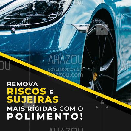 Aproveite os benefícios do polimento e venha dar um up no seu veículo!  #AhazouAuto #polimento  #esteticaautomotiva #automotivos #servicoautomotivo #carros #automotiva