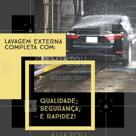 Traga seu carro e se surpreenda com nossos serviços! Aguardamos você!  #AhazouAuto  #esteticaautomotiva #lavajato #automotiva #carro #esteticaelavajato #limpezadecarros #carros #automotivos