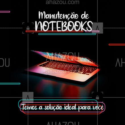Somos especialistas em deixar o seu notebok incrível! ?   #AhazouTec  #notebook #manutencao #conserto  #tecnologia #eletrônicos #assistencia #AssistenciaTecnica