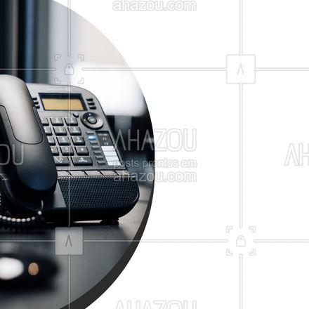 Desenvolvendo e instalando soluções de telefonia para você, como podemos te ajudar nesse momento?  #AhazouServiços #serviços #eletricista #telefone #eletricidade #eletrico #telefonia