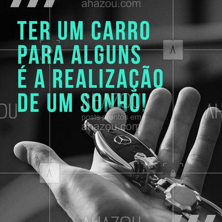 Para alguns ter um carro é apenas ter um carro. Para um amante da cultura automotiva é a realização de um sonho, é a personificação das suas batalhas. ?❤️ #AhazouAuto #AhazouAuto