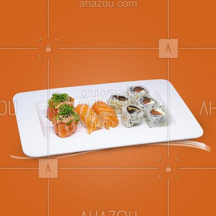 Na dúvida, pede um japa mesmo assim! ? #diadasaudade #saudade #ahazoutaste  #editaveisahz #japanesefood #sushilovers #comidajaponesa