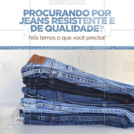 Um bom homem precisa de um bom jeans para acompanhar no dia a dia, venha conferir nossas opções!  ? #AhazouFashion #modaparahomens #modamasculina #menswear #calcajeans #jeansmasculino