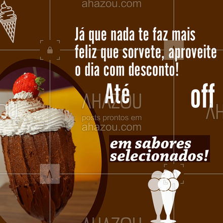 Veja todas as opções do nosso cardápio e celebre esse dia como ele merece! ❤️ #ahazoutaste  #cupuaçú #gelados #sorvete #açaí