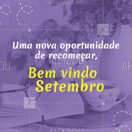 Que esse mês seja cheio de oportunidades.  #AhazouServiços #organizacao #servicos #casa #motivacional