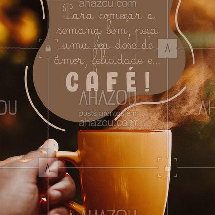 Café pode tornar qualquer dia excelente! ?☕  #Café #LoucosporCafé #ahazoutaste #coffee #FrasesdeCafé