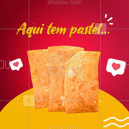 O que você está esperando para vir comer aquele pastelzão com um bom caldo de cana??? ? #Pastel #Pastelaria #carrosselahz #ahazoutaste  #pastelrecheado #amopastel #foodlovers