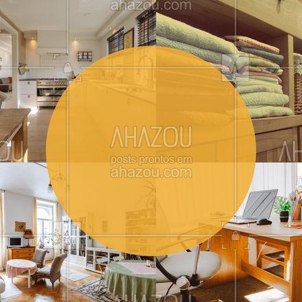 O personal organizer geralmente organiza cozinhas, armários, home offices ou até mesmo a casa toda. #Organização #PersonalOrganizer #AhazouServiços #editaveisahz #Organizer
