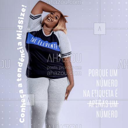 Um novo termo está mudando a maneira como as roupas e seus tamanhos são encarados. O MidSize, feito para esse exatamente o que o nome diz, um meio termo entre roupas de fabricação padrão e a moda plus size, democratiza ainda mais o acesso aquele look incrível! Mas vale lembrar que o importante, sempre, é se sentir bem com o que está vestindo.  #AhazouFashion  #lookdodia #fashion #OOTD #style #moda #outfit