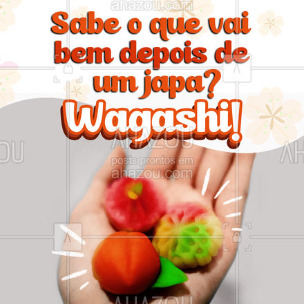 Venha experimentar nossos deliciosos wagashis! ? #wagashi #confeitaria #ahazoutaste #artecomestivel  #comidajaponesa  #japa