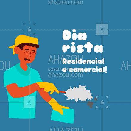Precisando dos meus serviços não exite em me chamar! Atendo residencial e comercial. #AhazouServiços  #diarista #lar #casalimpa #limpeza #servicos