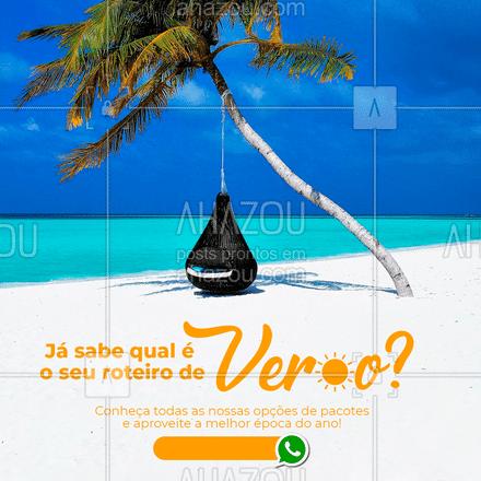 Planeje sua viagem dos sonhos e transforme esse verão em algo memorável!  #AhazouTravel  #viagens #agentedeviagens #viageminternacional #trip #viagem #viajar #viagempelobrasil #agenciadeviagens