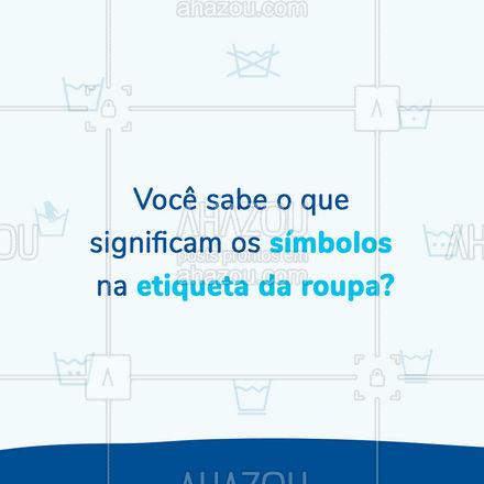 Mantenha a integridade de suas peças com essas dicas! #carrosselahz #lavanderia  #ahazou  #AhazouServiços