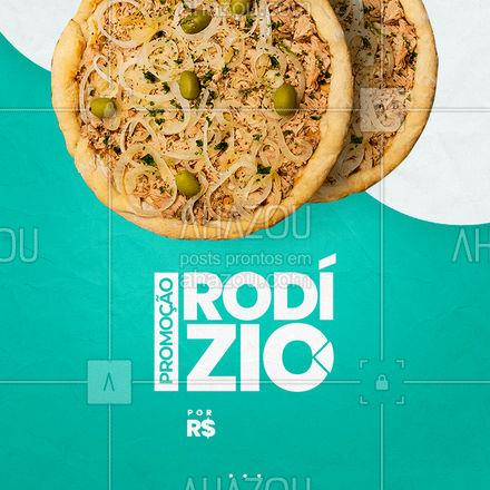 Venha se deliciar com o nosso rodízio! São mais de [X] sabores! ??  #ahazoutaste  #pizzaria #pizza #pizzalife #pizzalovers #rodizio