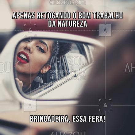 Eita!! Que beleza ai tem de sobra! ??  #AhazouBeauty  #estetica #beauty #beleza #meme #engracao #faustao #frase