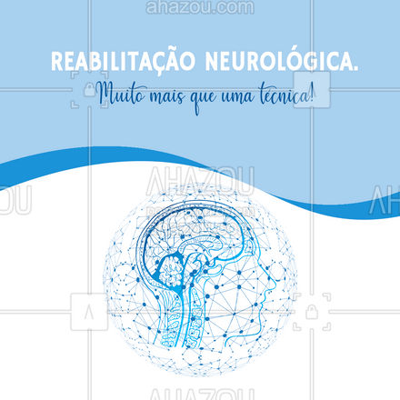Quando ouvimos falar de Reabilitação Neurológica, devemos ter em mente que não é apenas  uma técnica, mas sim, um tratamento indispensável para promover a recuperação do paciente neurológico. Entre em contato e saiba mais! #AhazouSaude  #fisioterapeuta #fisio #qualidadedevida #physiotherapy #fisioterapia