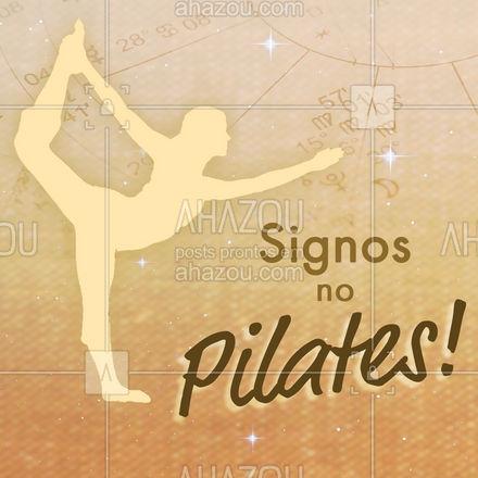Deu certo com o seu signo? Deixa pra gente nos comentários! #AhazouSaude #pilatesbody  #pilates  #fitness  #pilateslovers  #workout