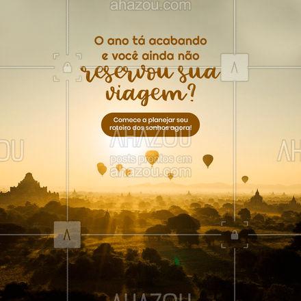 Quanto mais cedo você começa a planejar, menos imprevistos terá durante o passeio! #AhazouTravel #viagens #agentedeviagens #viageminternacional #viagempelobrasil #viagem #viajar #trip #agenciadeviagens #AhazouTravel