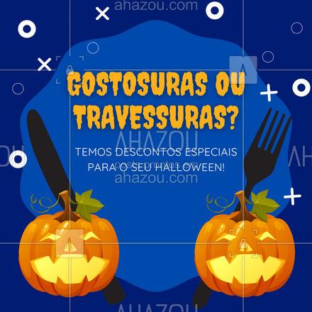 Aproveite os descontos especiais que separamos para vocês neste halloween! ?♀️? #ahazoutaste #gastronomy  #gastronomia  #foodie  #foodlover  #culinaria  #instafood #diadasbruxas #halloween