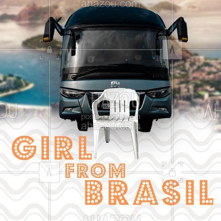 """""""Olha que coisa mais linda, mais cheia de graça, é ela menina""""? E você, garooota é de onde? ?♀ #ahazou #anitta #girlsfrom #meme #tendencia #mulher #brasil #grilsfrombrasil"""