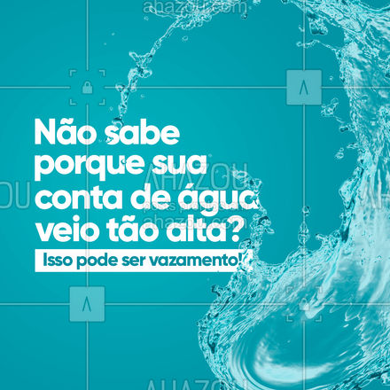 Se livre do vazamento e economize na conta de água! Entre em contato e agende seu horário! #servicoencanador #encanamento #visitatecnica #AhazouServiços #infiltracoes #encanador