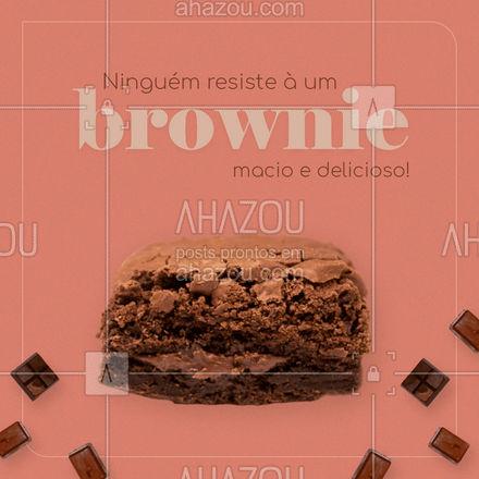 Encomende o seu agora mesmo! 🥰 #brownie #browniedechocolate #ahazoutaste  #confeitariaartesanal  #confeitaria