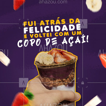 Totalmente compreensível, né?! ??  #acai #loucosporacai #ahazoutaste  #gelados #sorvete