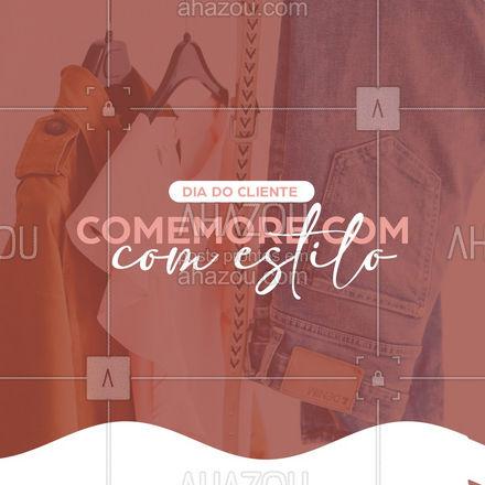 As melhores peças com os melhores preços para você comemorar em grande estilo! Continue nos acompanhando para conferir as promoções. Ah, aprovveite para ativar as notificações para não perder nada viu???  #AhazouFashion  #lookdodia #fashion #OOTD #style #moda #outfit #diadocliente #promoção
