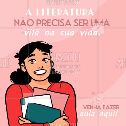 Temos novas turmas esperando por você! 😉 #literatura #auladeliteratura #AhazouEdu #educação  #aulaparticular  #vestibular  #ENEM  #cursinho