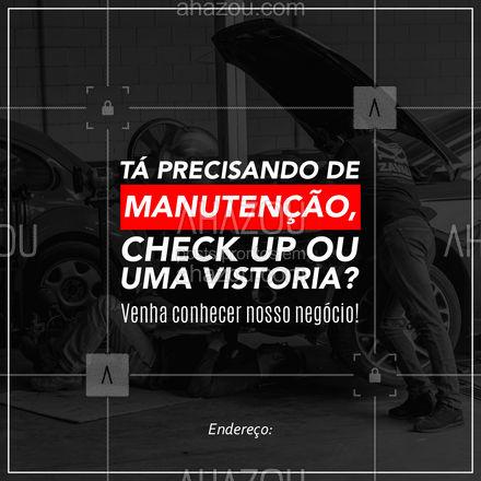 O que você precisar, a gente trabalha duro pra fazer acontecer! ? #AhazouAuto #mecanicaautomotiva #eletricaautomotiva #carros #checkup #vistoriaveicular #AhazouAuto
