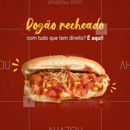 Um dog bem recheado e completo com tudo que você mais gosta é aqui mesmo! Entre em contato e peça já o seu! #hotdog #hotdoglovers #hotdoggourmet #ahazoutaste #cachorroquente #food