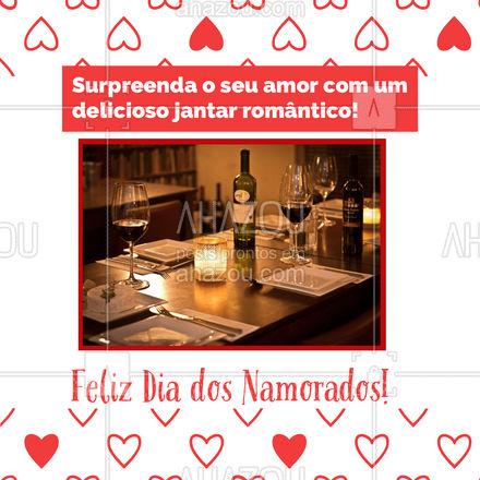 Nada mais romântico que um jantarzinho delicioso, para comemorar o Dia dos Namorados❤! Surpreenda o seu amor, faça já o seu pedido! #gastronomy #foodie #gastronomia #foodlover #ahazoutaste #culinaria #instafood #amor #namorados #diadosnamorados #felizdiadosnamorados