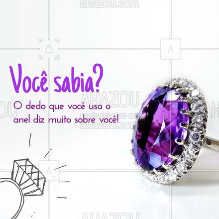O que a posição dos seus anéis anda falando sobre você? ?? #Acessórios #anéis #carrosselahz #AhazouFashion  #semijoias #fashion #estilo