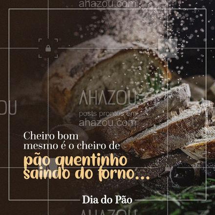No dia do pão, é mais do que obrigatório garantir os pães quentinhos para o seu café! ?? #diadopão #pão #ahazoutaste  #padaria  #pãoquentinho  #padariaartesanal  #bakery